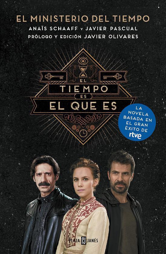 """Nuestro Socio Javier Pascual, Coautor De La Novela De """"El Ministerio Del Tiempo"""""""