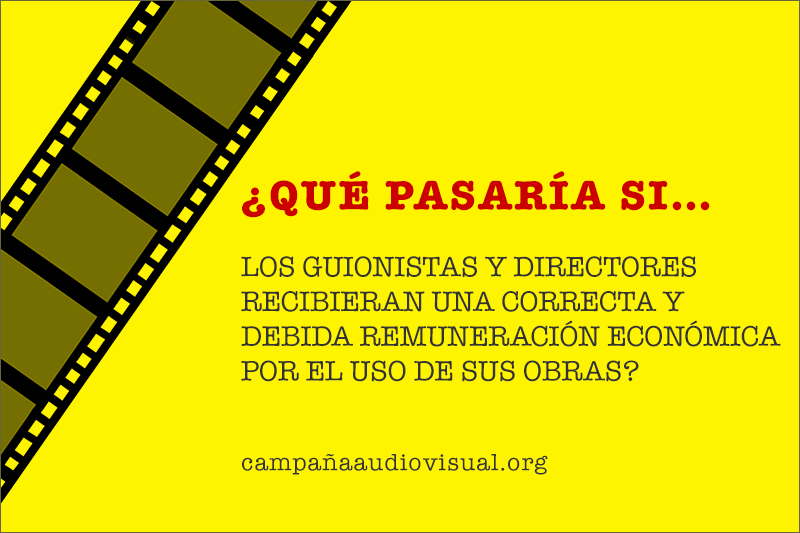 """La Campaña Audiovisual"" – ""The Audiovisual Campaign"", De Writers & Directors Y CISAC"