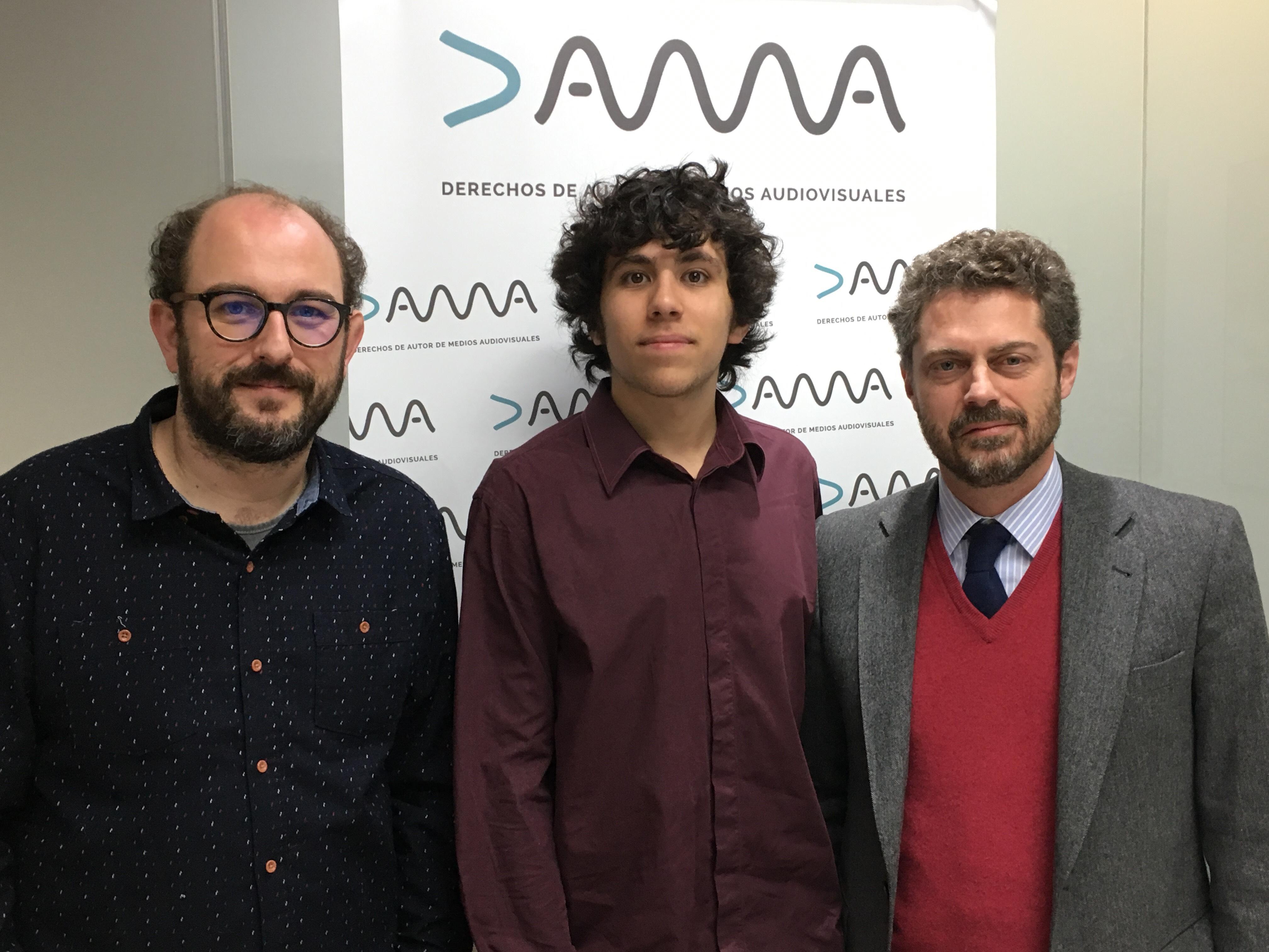 DAMA Beca A Un Alumno De La Diplomatura En Cine Documental De La ECAM