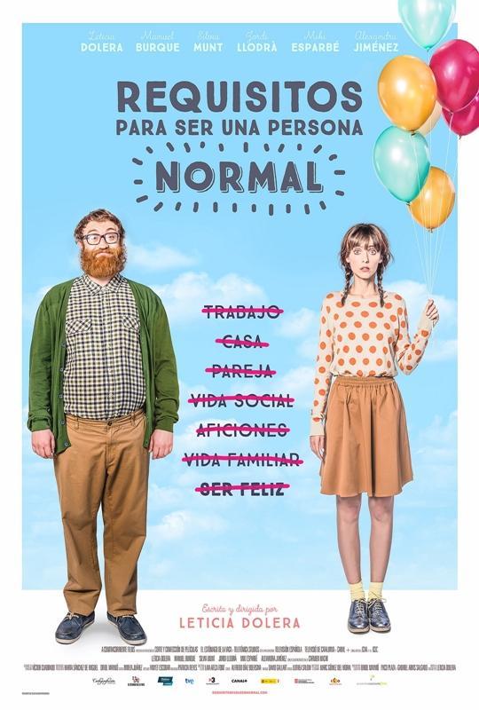 """Ya En Cines """"Requisitos Para Ser Una Persona Normal"""""""