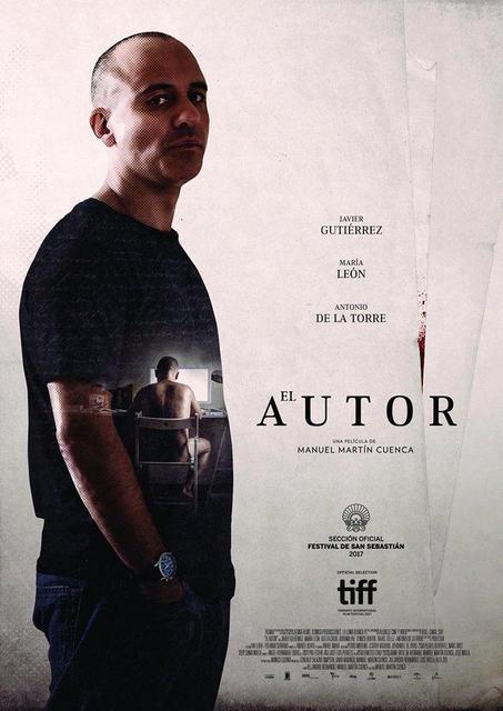 """""""El Autor"""", De Nuestros Socios Manuel Martín Cuenca Y Alejandro Hernández, Triunfa En Los Premios ASECAN Del Cine Andaluz 2018"""